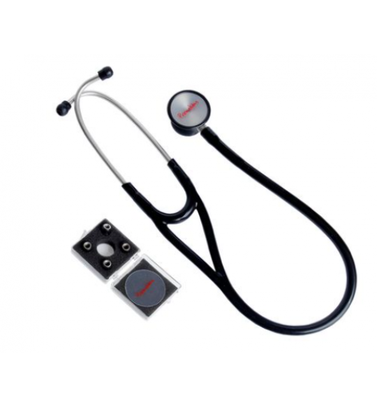 Estetoscopio Cardiologico Adulto Preto Ref.Estcard